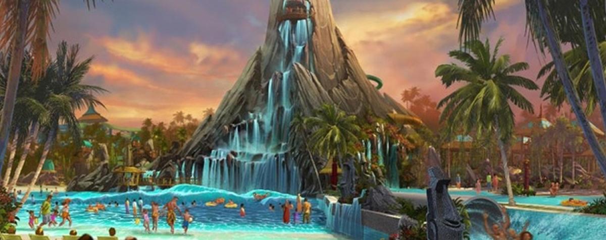 Universal Orlando Theme Park News, Volcano bay Universal Orlando, Orlando Theme park news