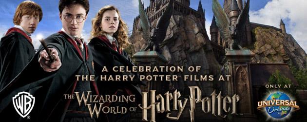 A Celebration of Harry potter, Universal Orlando harry potter, Orlando vacation rental news