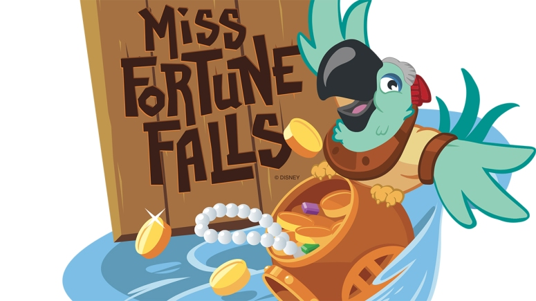 New Attractions in Orlando, Miss Fortune Falls, Typhoon lagoon new attraction