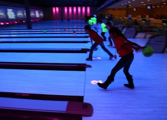 Bowling alley, main event entertainment