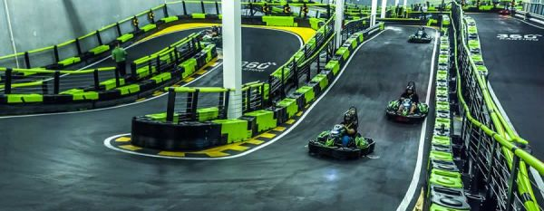 Orlando karting center, interactive karts Orlando