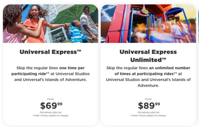 Express Pass Universal